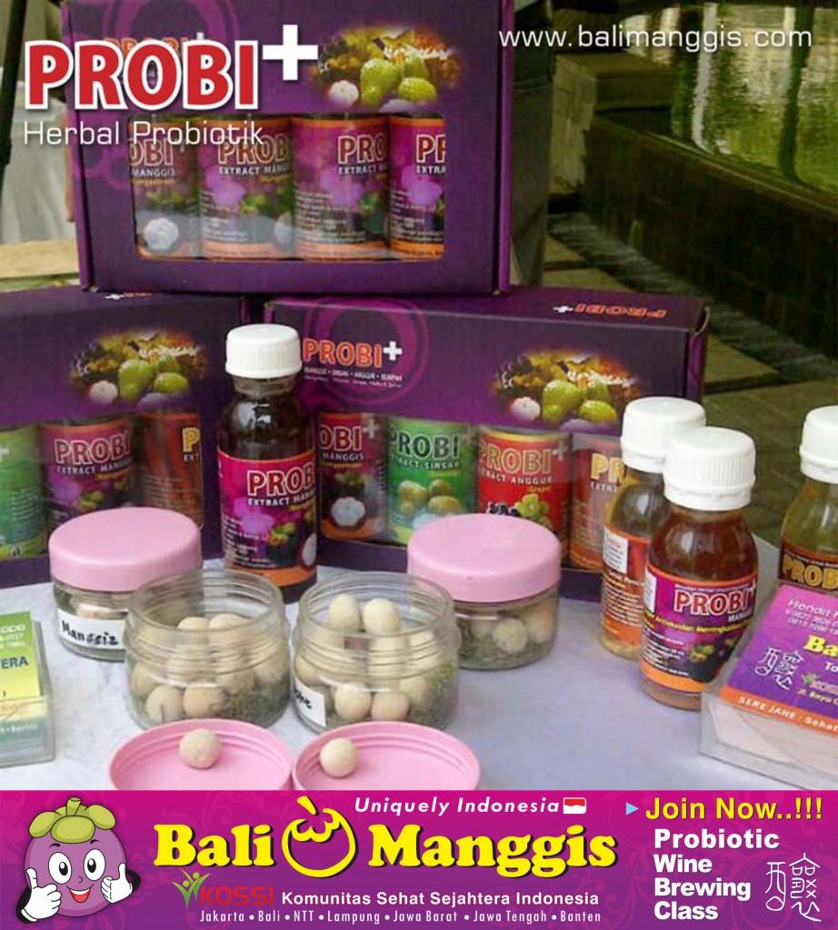 herbal yang enak itu probiotik