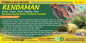 Label Rendaman 100ml